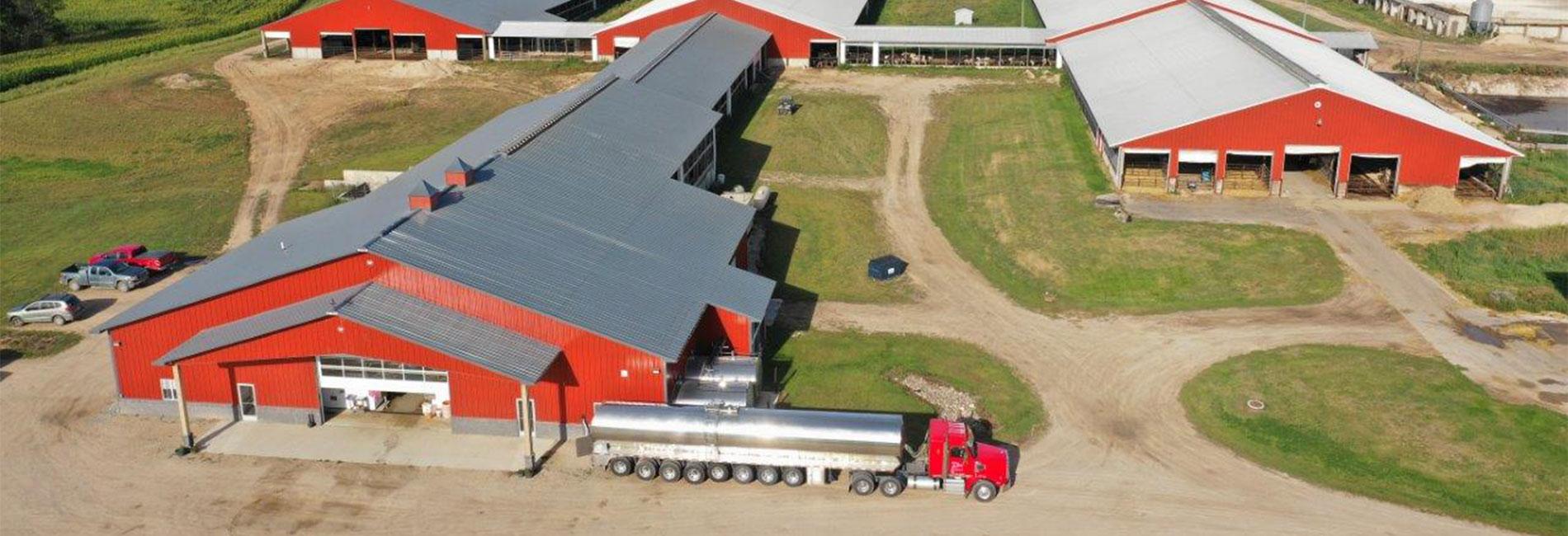 Dairy Farm & Agriculture Building Construction