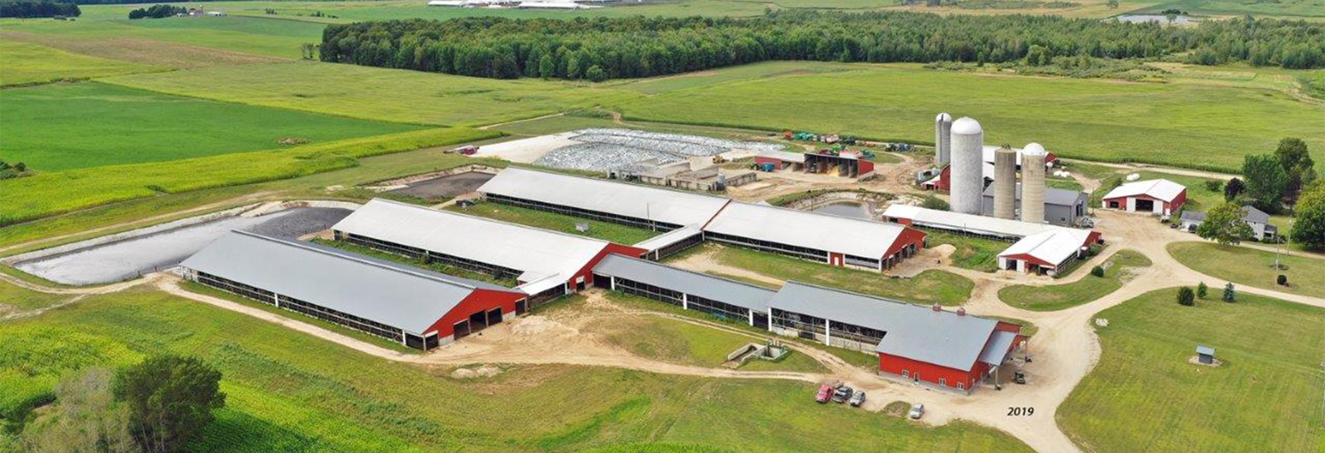 Agricultural Buildings, Parlors, Livestock, Machine Sheds and pole shed barns