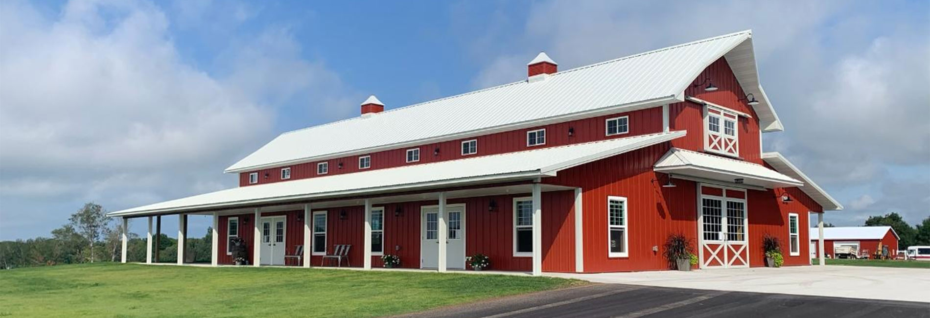 Commercial Event Building Construction, Pole Barn and Post Frame Building Services